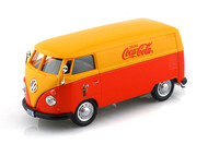 Motor City Classics 1/43 Scale 1962 Volkswagen Panel Van Bus Coke Coca Cola Diecast Car Model 434481