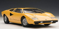 Lamborghini Countach LP400 S Yellow 1/18 Scale Diecast Car Model By AUTOart 74646