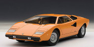 Lamborghini Countach LP400 S Orange 1/18 Scale Diecast Car Model By AUTOart 74647
