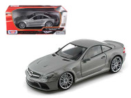 Mercedes Benz SL65 AMG Black Series Grey 1/18 Scale Diecast Car Model By Motor Max 79161