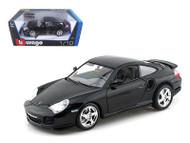 Porsche GT3 Strasse Black 1/18 Scale Diecast Car Model By Bburago 12040
