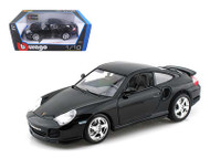 Porsche GT3 Strasse Black 1/18 Scale Diecast Car Model By Bburago 12040