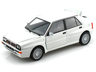 Bburago 1/24 Scale Lancia Delta HF Integrale EVO 2 White Diecast Car Model 21072