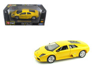 Lamborghini Murcielago Yellow 1/24 Scale Diecast Car Model By Bburago 22054