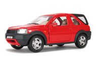 Bburago 1/24 Scale Land Rover Freelander With Rear Cab Red Diecast Car Model 22012