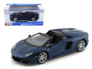 Maisto 1/24 Scale Lamborghini Aventador LP-700-4 Roadster Blue Diecast Car Model 31504