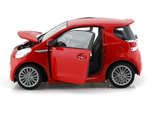 Aston Martin Cygnet Red 1/24 Scale Diecast Car Model By Welly 24028