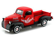 Motor City Classics 1/24 Scale 1941 Plymouth Coke Coca Cola Pick Up Truck Diecast Model 438068