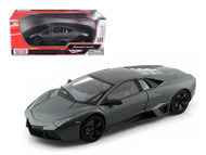 Lamborghini Reventon Grey 1/18 Scale Diecast Car Model By Motor Max 79155