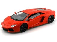 Lamborghini Aventador LP700-4 Orange 1/18 Scale Diecast Car Model By Motor Max 79154