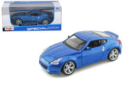 2009 Nissan 370Z 370 Z Blue 1/24 Scale Diecast Car Model By Maisto 31200