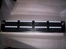 "Lucent 106930308 Cat5 48-Port RJ45 to 110D 2RU 19"" Patch Panel, New"