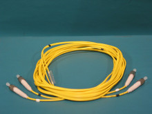 ADC FPC2-SPFC-7M Patch Cord, 2 mm Dual Zip, Singlemode FC, 7 Meters. New