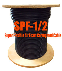 "1/2"" Super Flexible 50 ohm Coax Cable - 500' (Compare to Commscope FSJ4-50B) - SPF12D"