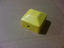 "Newton 00250900DB End Cap 2"" x 2"", Yellow / New"