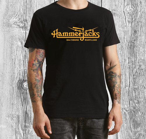 Official Hammerjacks Black T-Shirt
