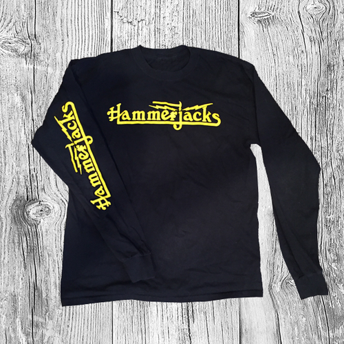 Hammerjacks Long Sleve Black T Shirt