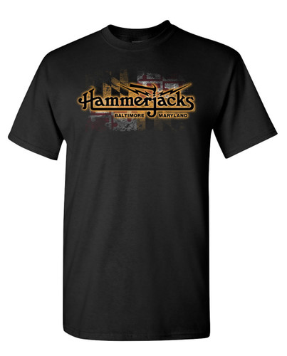 Hammerjacks Maryland Flag T-Shirt