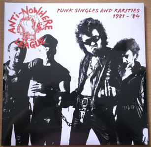 ANTI-NOWHERE LEAGUE Punk Singles & Rarities 1 2x LP Vinyl