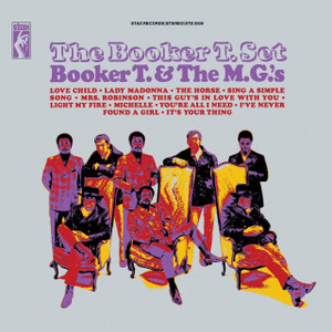 BOOKER T & THE MGs The Booker T Set vinyl LP