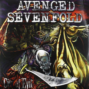 AVENGED SEVENFOLD City Of Evil 2x LP Vinyl