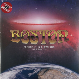 BOSTON Feeling It In Cleveland 2x LP Vinyl