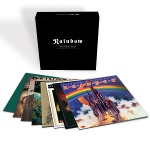 RAINBOW The Polydor Years Vinyl LP Boxset
