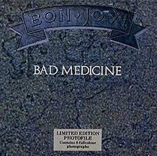 "BON JOVI - Bad Medicine (7"" Vinyl Single)"