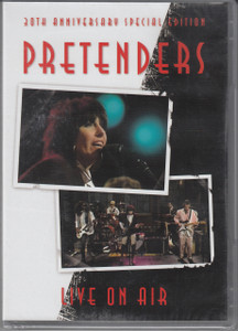 THE PRETENDERS Live On Air 30th Anniversary DVD