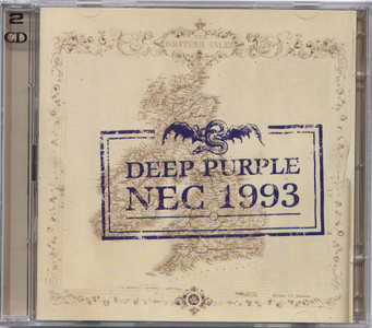 DEEP PURPLE - NEC 1993 (DOUBLE CD)