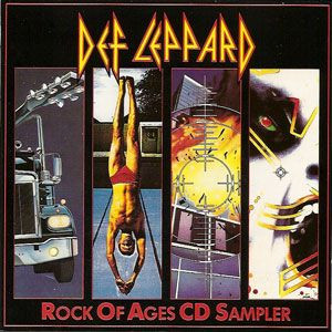 "DEF LEPPARD - Rock Of Ages CD Sampler (5"" CD SINGLE)"