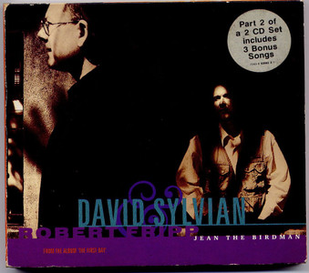 "DAVID SYLVIAN & ROBERT FRIPP - Jean The Birdman (5"" CD SINGLE)"