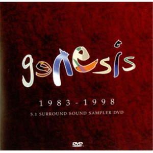 GENESIS - 1983-1998 5.1 Surround Sound Sampler (DVD)
