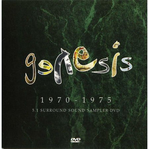 GENESIS - 1970-1975 5.1 Surround Sound Sampler (DVD)