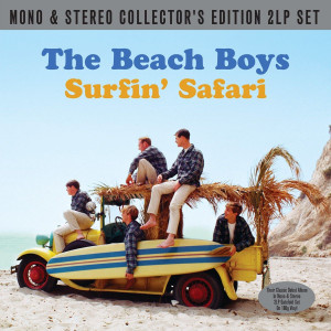 BEACH BOYS Surfin Safari UK 180g vinyl 2LP set SEALED/NEW mono & stereo mixes