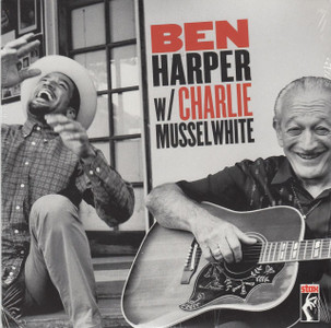 "BEN HARPER & CHARLIE MUSSELWHITE Don't Look Twice 7"" Vinyl Single"