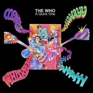 THE WHO A Quick One Vinyl LP