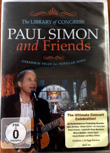 PAUL SIMON & FRIENDS The Library Of Congress 2009 DVD REGION 2 NTSC Gershwin