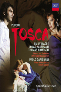 Puccini TOSCA (OPERNHAUS ZÜRICH) 2011 Blu-ray SEALED/NEW Magee Kaufmann Hampson