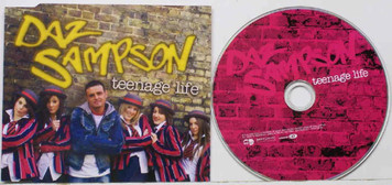 DAZ SAMPSON Teenage Life 2006 5-trk Maxi CD single NEW/UNPLAYED Eurovision 2006