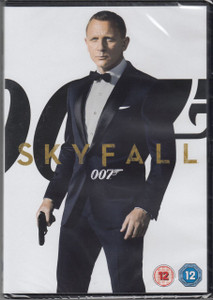 SKYFALL 007 2012 UK DVD NEW/SEALED James Bond Daniel Craig Judi Dench Free P&P