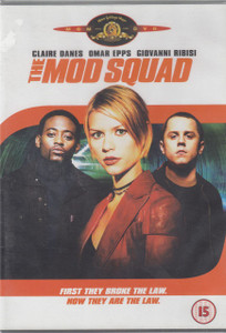 THE MOD SQUAD 2001 UK DVD NEW/SEALED Claire Danes Omar Epps Free UK P&P