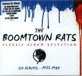 BOOMTOWN RATS Classic Album Selection 2013 6-CD Box Set SEALED / NEW Bob Geldof