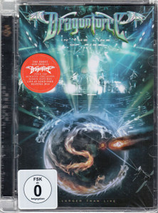 DRAGONFORCE In The Line Of Fire: Larger Than Live 2015 Region 0 DVD NEW/SEALED