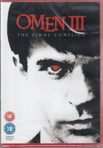 OMEN III: The Final Conflict 2006 PAL Region 2 DVD NEW/SEALED Sam Neill