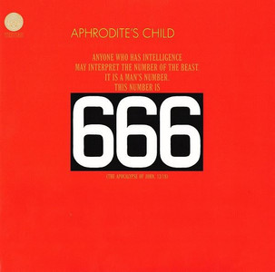 APHRODITE'S CHILD 666 2014 24-track 180g vinyl 2-LP + MP3 NEW/SEALED Vangelis