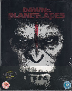 DAWN OF THE PLANET OF THE APES 2014 Steelbook Blu-ray + Digital HD UV NEW/SEALED