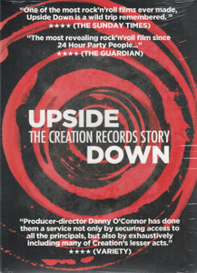 UPSIDE DOWN: The Creation Records Story 2014 UK Region 2 PAL DVD NEW/SEALED
