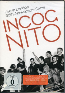 INCOGNITO Live In London: 35th Anniversary Show 2015 DVD + Bonus SEALED/NEW