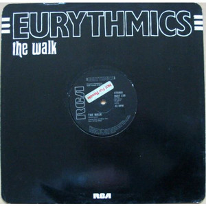 "EURYTHMICS - The Walk (12"" Vinyl Single)"